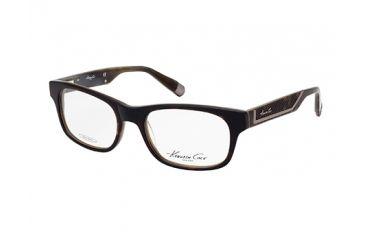 Kenneth Cole New York KC0201 Eyeglass Frames - Havana Frame Color