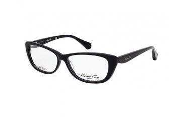 Kenneth Cole New York KC0202 Eyeglass Frames - Shiny Black Frame Color