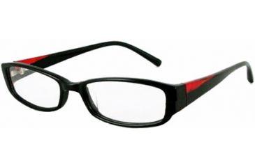 Kenneth Cole New York KC0698 Eyeglass Frames - Shiny Black Frame Color