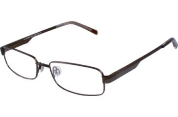 Kenneth Cole New York KC0701 Eyeglass Frames - Shiny Dark Brown Frame Color