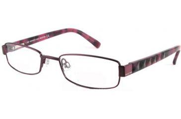 Kenneth Cole New York KC0705 Eyeglass Frames - Shiny Violet Frame Color