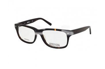 Kenneth Cole Reaction KC0722 Eyeglass Frames - Dark Havana Frame Color