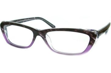 Kenneth Cole New York KC0724 Eyeglass Frames - Violet Frame Color