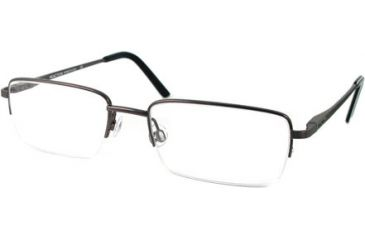 Kenneth Cole New York KC0726 Eyeglass Frames - Shiny Gun Metal Frame Color
