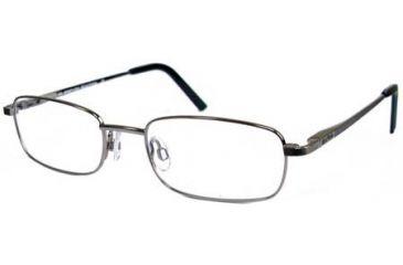 Kenneth Cole New York KC0728 Eyeglass Frames - Shiny Dark Nickeltin Frame Color