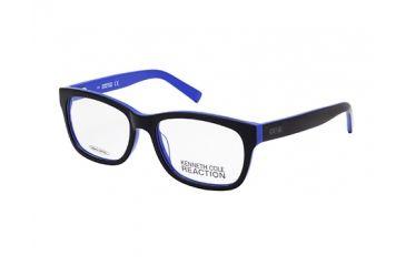 Kenneth Cole New York KC0744 Eyeglass Frames - Shiny Black Frame Color