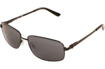 Kenneth Cole New York KC6091 Sunglasses - Matte Black Frame Color, Smoke Lens Color
