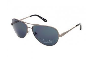 Kenneth Cole New York KC7029 Sunglasses - Matte Dark Nickeltin Frame Color