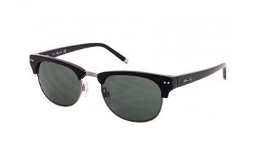 Kenneth Cole New York KC7039 Sunglasses - Shiny Black Frame Color, Green Lens Color