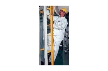 Kimberly Clark KLEENGUARD A40 Liquid and Particle Protection Coveralls, Kimberly-Clark 44344 No Elastic