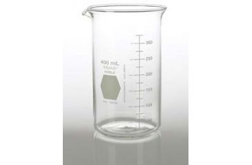 Kimble/Kontes KIMAX Brand Berzelius Beakers, Tall Form, Graduated, Borosilicate Glass 14030 600 With Pouring Spout