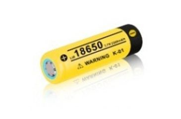 Klarus 18650 2200mAh Rechargeable Li-Ion Battery 186502200MAH