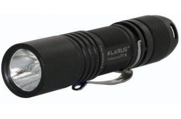 Klarus P1A LED Flashlight with CREE XP-G R5 LED 150 Lumens - Black Finish - Uses 1 x AA Battery KLARUS-P1A