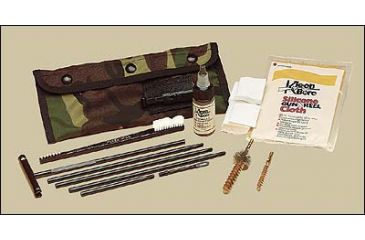 Kleenbore Pou302b Black Ar 15 M 16 223 5 56mm Field Cleaning Kit