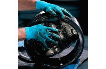 Kleenguard G10 Blue Nitrile Gloves, Blue, Large 57373