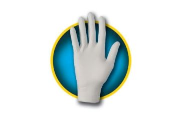 Kleenguard G10 Grey Nitrile Gloves, Grey, Large 97823