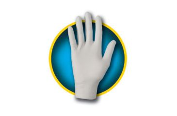 Kleenguard G10 Grey Nitrile Gloves, Grey, XL 97824