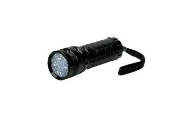 Konus Flashlights Set of 12 Pieces Black Compact LED Torch w/ Multiple Functions 3906