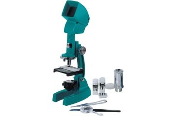 Konus Konusfirst 600x Biological Didactical Educational Microscope 5015 w/ Projector/ Viewer Accessory Kit