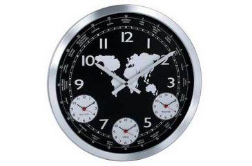 Konus Terrano Wall Clock With Metal Body