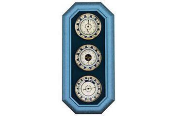 Konus Wooden Thermometer Barometer and Hygrometer Triple Wall Meteo Set Station - Blue 6379
