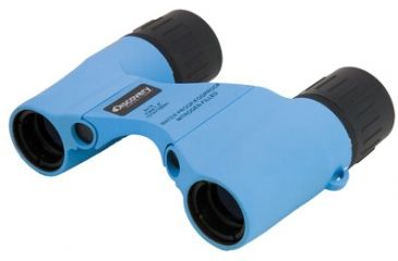 Kruger Optical Discovery Expedition 6x18 Roof Prism Binoculars, Blue 81010