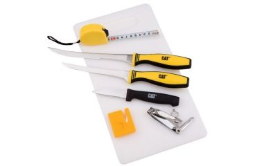 Kutmaster Tackle Box Fillet Knife Kit, 6in./8in. Blades 196401