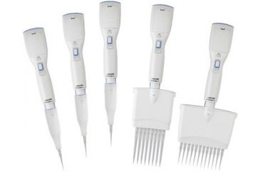 Labnet Biopette E Eight Channel Electronic Pipette, 2-20µl With Shelf Clip, One Battery And Charging Adapter, 120v P3608-20