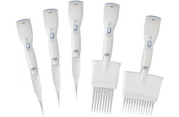 Labnet Biopette E Twelve Channel Electronic Pipette, 2-20µl With Shelf Clip, One Battery And Charging Adapter, 120v P3612-20