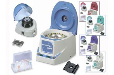 Labnet Spectrafuge 24d Microcentrifuge Starter Pack, Purple C2400-SP-P