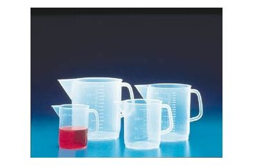 VWR Graduated Beaker with Handle, Low Form, Polypropylene K1160-VWR