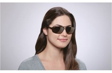 Maui Jim Lahainaluna Sunglasses w/ Brushed Bronze Frame and HCL Bronze Lenses - H232-20, On Model