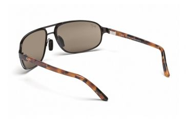 Maui Jim Lahainaluna Sunglasses w/ Brushed Bronze Frame and HCL Bronze Lenses - H232-20, Back View