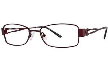 LAmy Adrienne Bifocal Prescription Eyeglasses - Frame Burgundy/Red, Size 52/17mm LYADRIENNE02
