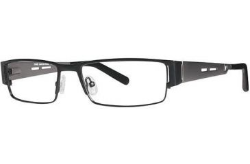 LAmy Andre Bifocal Prescription Eyeglasses - Frame Black/Pewter, Size 54/17mm LYANDRE01
