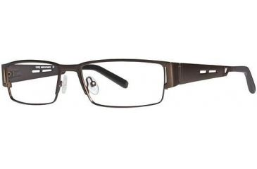 LAmy Andre Progressive Prescription Eyeglasses - Frame Brown/Pewter, Size 54/17mm LYANDRE02
