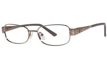 LAmy C by 517 Bifocal Prescription Eyeglasses - Frame Brown CYCBL51701