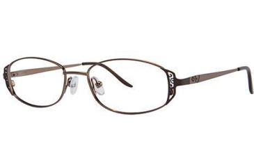 LAmy C by L'Amy 505 Single Vision Prescription Eyeglasses - Frame Brown, Size 49/16mm CYCBL50503