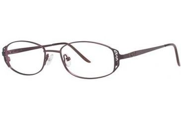 LAmy C by L'Amy 505 Single Vision Prescription Eyeglasses - Frame Eggplant, Size 49/16mm CYCBL50501