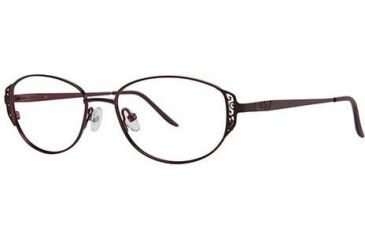 LAmy C by L'Amy 506 Progressive Prescription Eyeglasses - Frame Burgundy, Size 51/16mm CYCBL50601