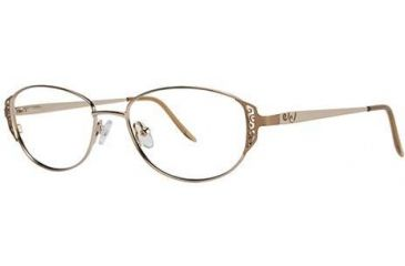 LAmy C by L'Amy 506 Bifocal Prescription Eyeglasses - Frame Gold, Size 51/16mm CYCBL50602