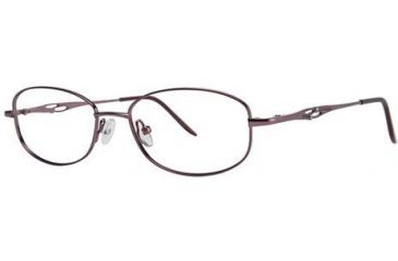 LAmy C by L'Amy 508 Single Vision Prescription Eyeglasses - Frame Mauve, Size 50/16mm CYCBL50801
