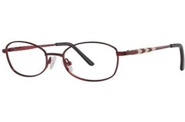 LAmy C By L'Amy 513 Bifocal Prescription Eyeglasses - Frame Burgundy, Size 50/17mm CYCBL51301