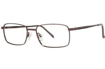 LAmy C by L'Amy 600 Bifocal Prescription Eyeglasses - Frame Brown, Size 55/18mm CYCBL60003
