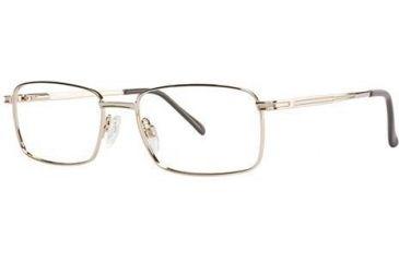 LAmy C by L'Amy 600 Bifocal Prescription Eyeglasses - Frame Gold, Size 55/18mm CYCBL60002