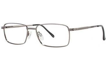 LAmy C by L'Amy 600 Bifocal Prescription Eyeglasses - Frame Gunmetal, Size 55/18mm CYCBL60001
