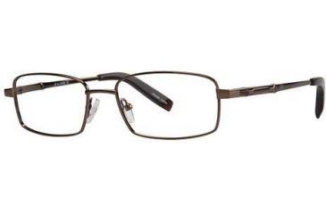 LAmy C by L'Amy 603 Bifocal Prescription Eyeglasses - Frame Brown, Size 53/17mm CYCBL60302