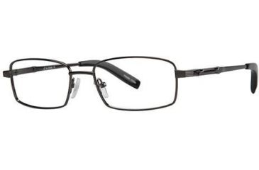 LAmy C by L'Amy 603 Progressive Prescription Eyeglasses - Frame Gunmetal, Size 53/17mm CYCBL60301