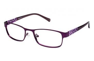 LAmy Cadence Progressive Prescription Eyeglasses - Frame Matte Plum / Light Purple LYCADENCE03