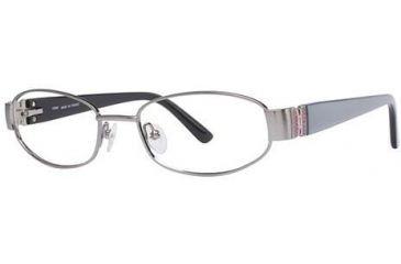 LAmy Claudia Eyeglass Frames - Frame Shiny Blue, Size 49/17mm LYCLAUDIA01